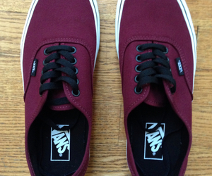 maroon and vans image