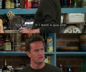 chandler, funny, and Matthew Perry image