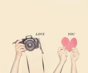amor, camara, and heart image