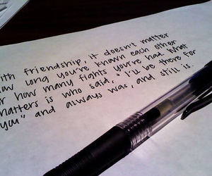 friendship, text, and quote image