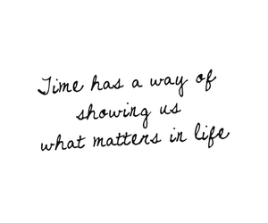 quote, life, and time image