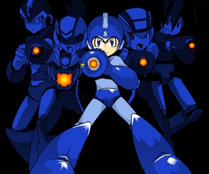games, megaman, and nes image