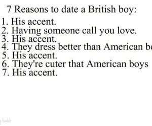 accent, british, and reasons image