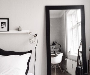 black and white, home, and inspirations image