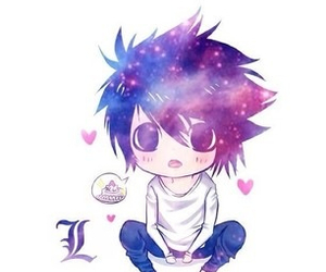 adorable, chibi, and death note image