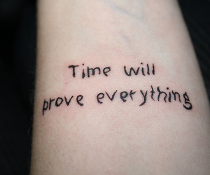 tattoo, time, and cool image