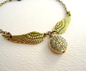 geeky, golden snitch, and gryffindor image