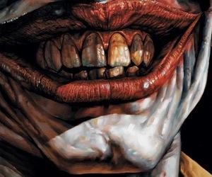 joker, art, and smile image