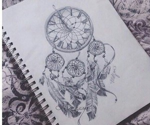 beauty, book, and dream catcher image