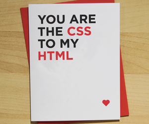 love, css, and html image
