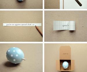 diy, egg, and gift image