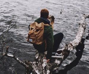 travel, adventure, and boy image