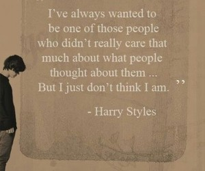 Harry Styles, one direction, and quote image
