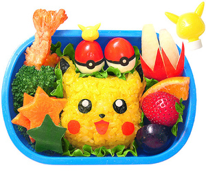food, pokemon, and bento image