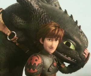 how to train your dragon and hiccup image