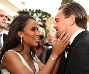 leonardo dicaprio, kerry washington, and red carpet image