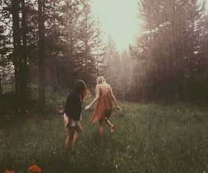 adventure, blond, and nature image