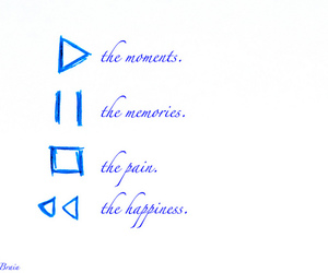 happiness, life, and memories image