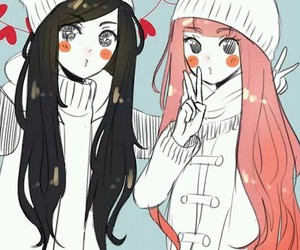 cute, anime, and friends image