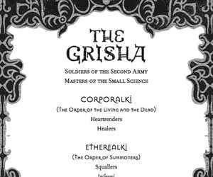 order and the grisha trilogy image