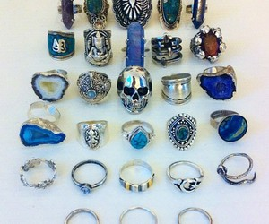 rings and blue image