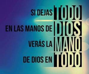 god, jesus, and dios es amor image