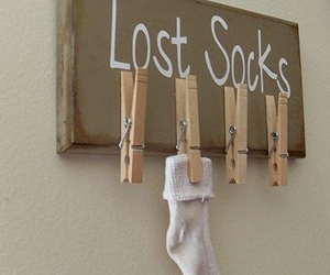 diy, socks, and lost image