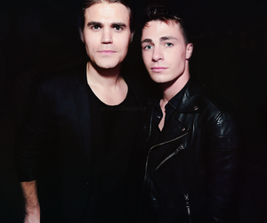 Hot, paul wesley, and colton haynes image