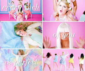 all about that bass, song, and meghan trainor image