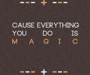 Lyrics, magic, and song image