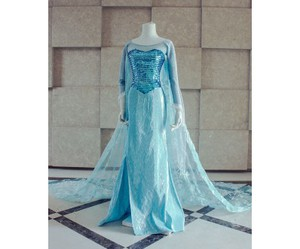 frozen and cosplay costume image