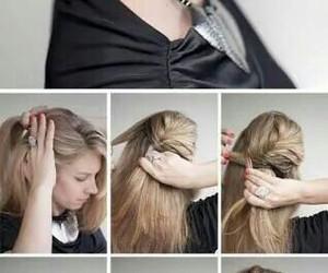 elegant, cute, and hair image