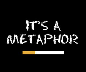 metaphor, the fault in our star, and okay?okay. image