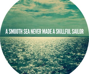 sea, life, and quote image
