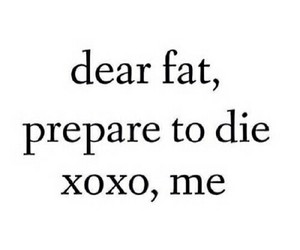 fat, fitness, and motivation image