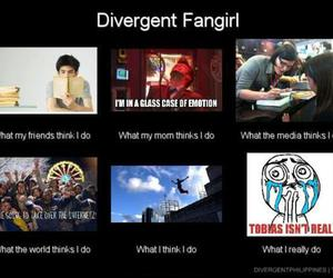 divergent, fangirl, and tobias image
