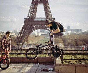 paris, boy, and bmx image