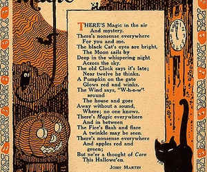 Halloween, magic, and poem image