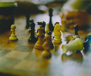 chess, vintage, and photography image