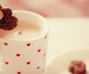 chocolate, cocoa, and cookie image