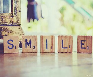 smile and behappy image