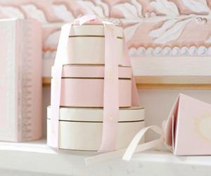 pink, box, and gift image