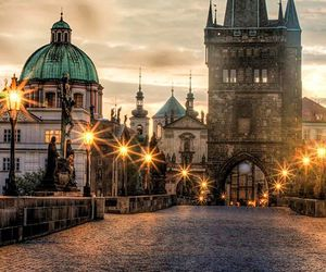 prague and travel image