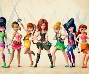 disney, fairy, and tinkerbell image