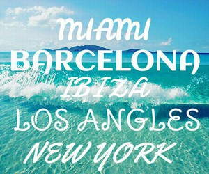 Barcelona, beach, and ibiza image