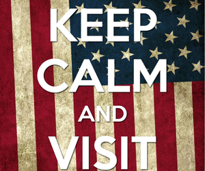 usa, keep calm, and america image