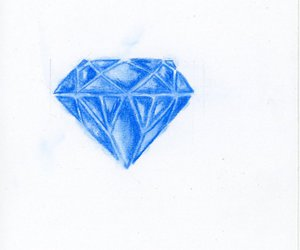 diamond, doodles, and sketch image