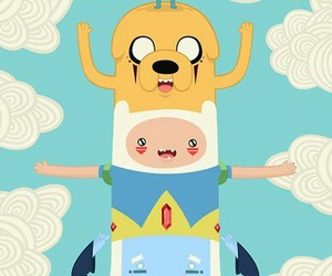 cartoons, childhood, and adventure time image
