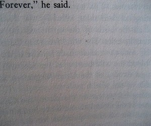 forever, book, and quote image