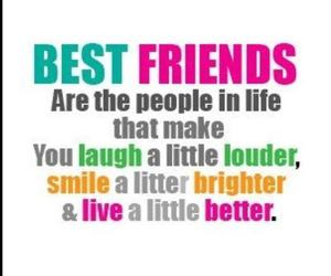 best friends, friends, and laugh image